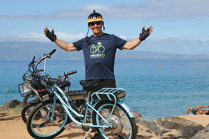 E bikes are great recreation and transportation option on Maui