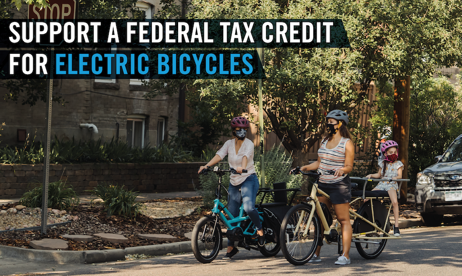 Federal Tax Credit for E-bikes