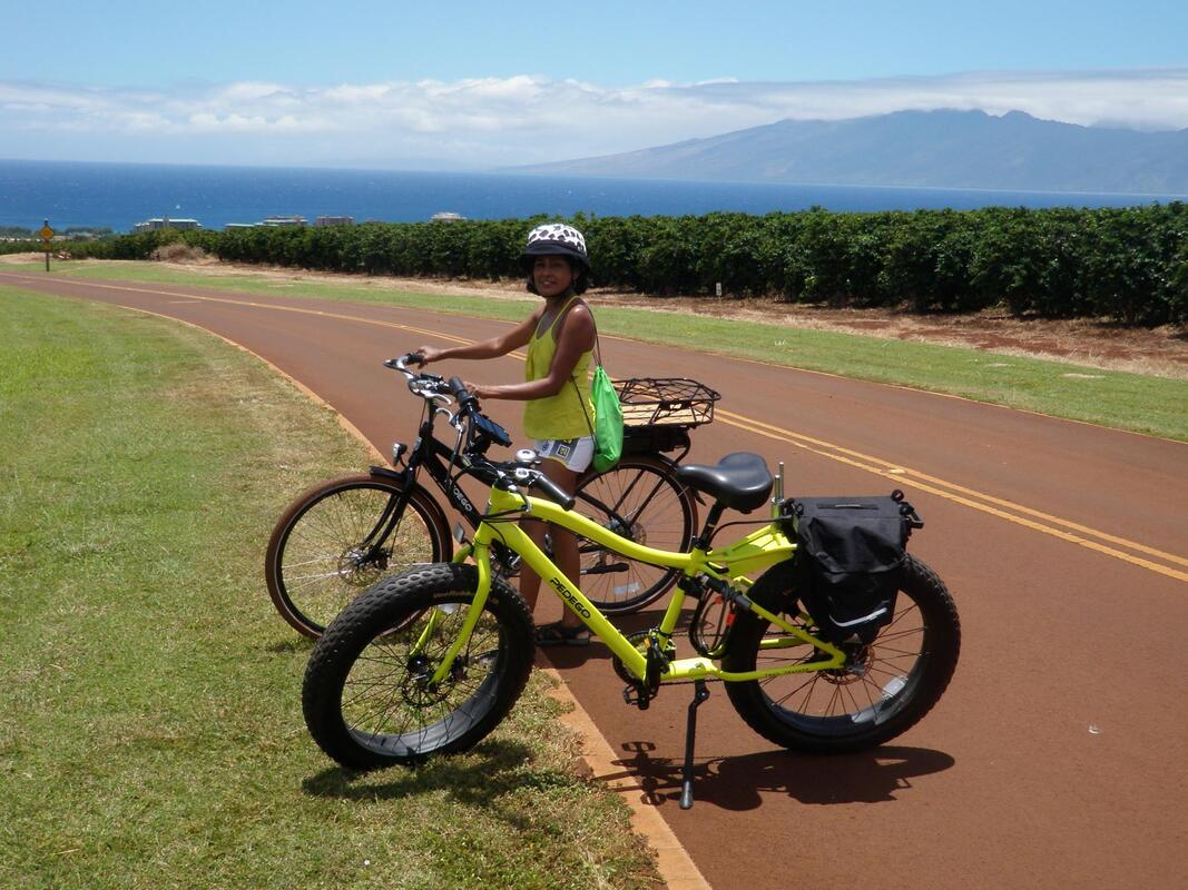 E Bike rental Kaanapali Maui - https://www.ridesmartmaui.com/